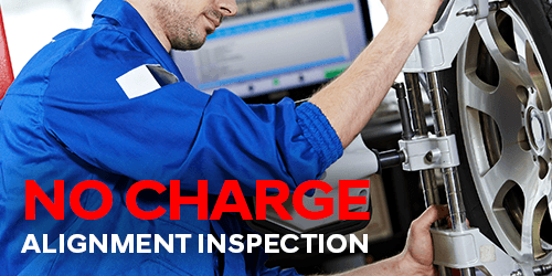 No Charge Alignment Inspection