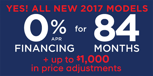 Yes! All New 2017 Models!