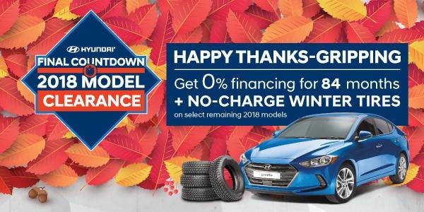 Hyundai Final Countdown 2018 Model Clearance