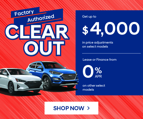 Hyundai Factory Clearout Event In Woodstock