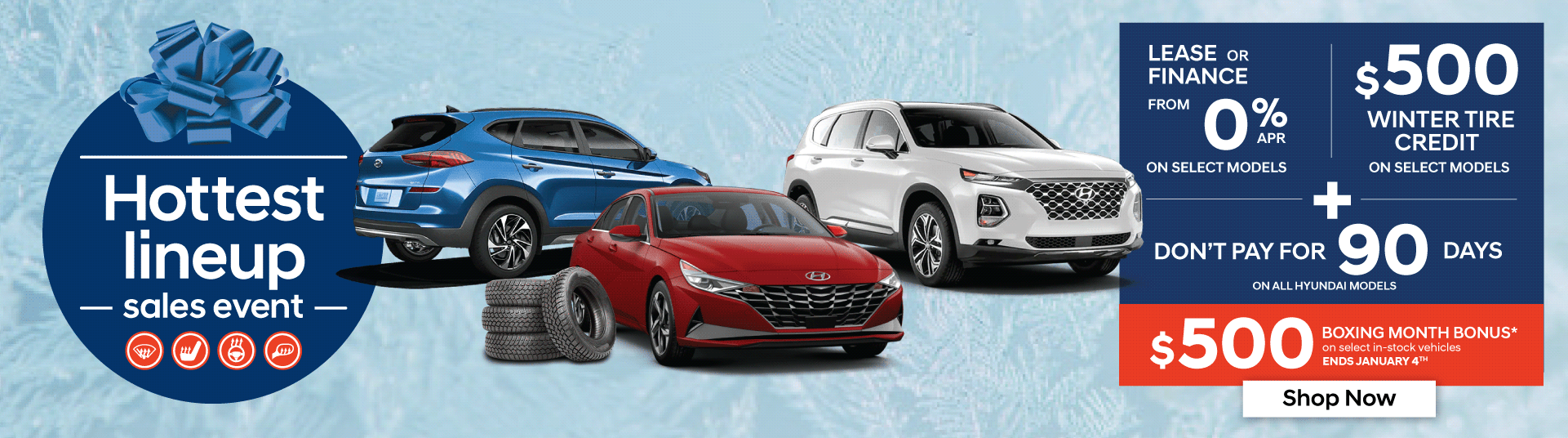 Hyundai Hottest Lineup Sales Event in Woodstock