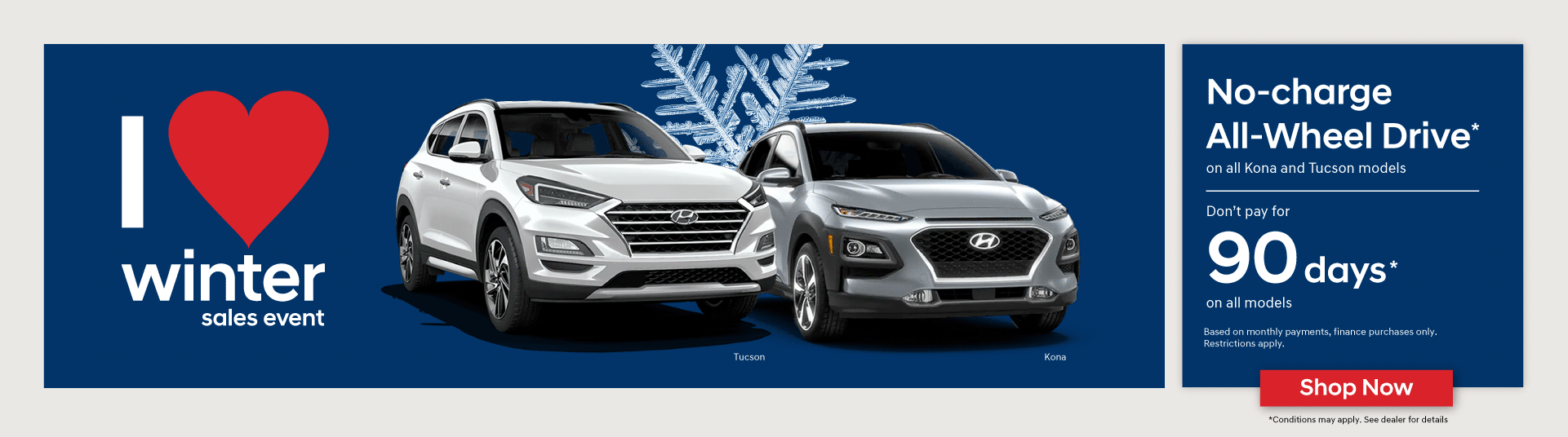 Hyundai I Love Winter Sales Event in Woodstock