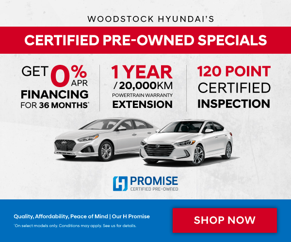 Hyundai Certified Pre-Owned Cars for Sale in Woodstock