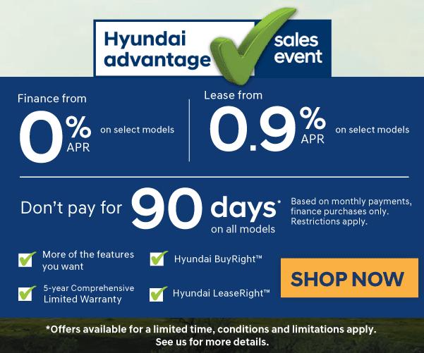 Hyundai Promotions in Woodstock, Ontario - Woodstock Hyundai Dealership